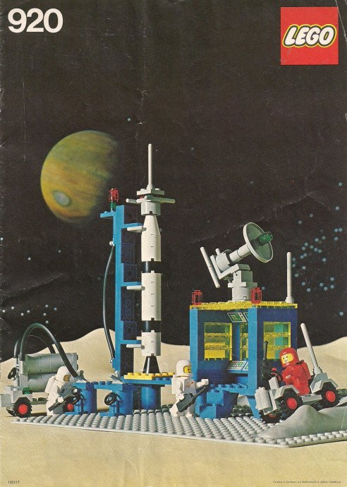 Lego Space Bot On Twitter 920 2 Rocket Launch Pad 1979 Lego