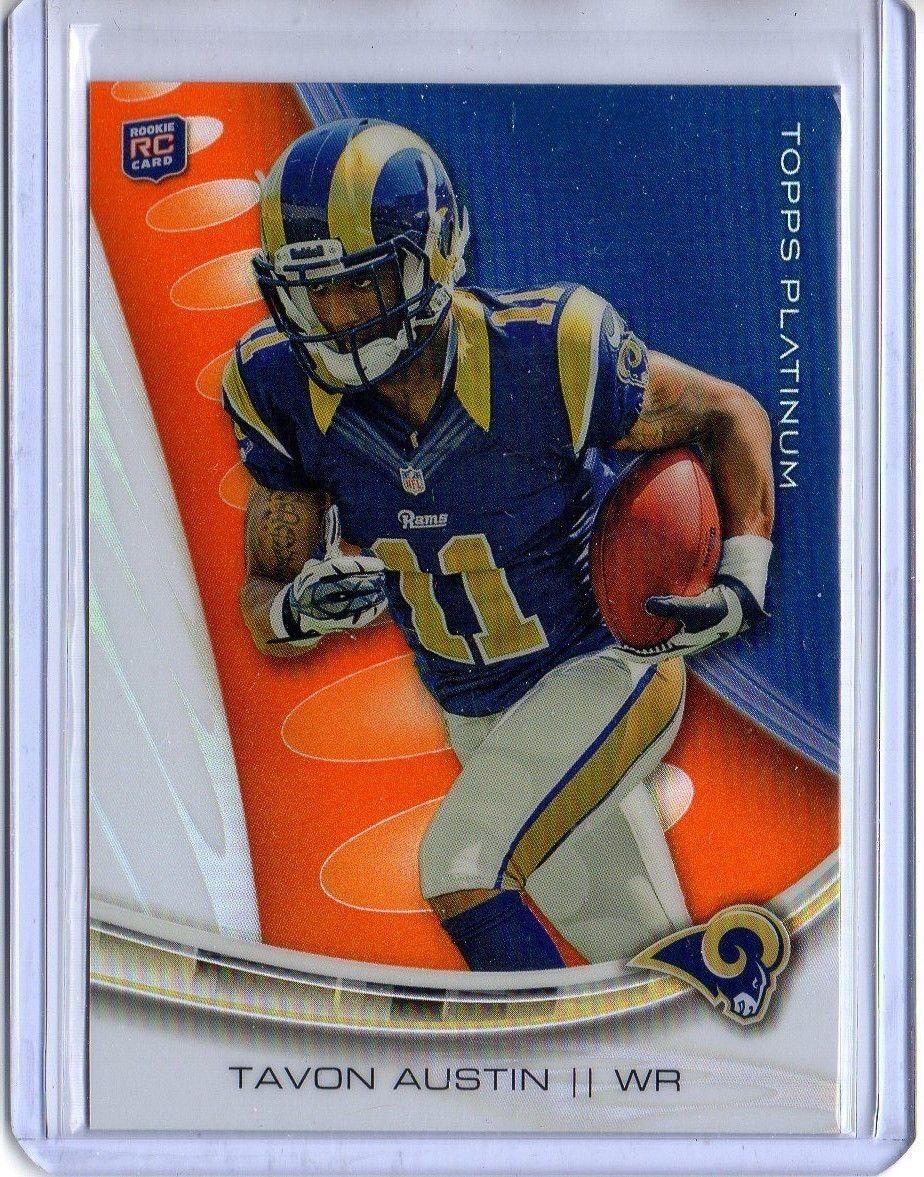 #NFL TAVON AUSTIN 2013 #Topps PLATINUM #123 #Rams #Rookie ORANGE REFRACTOR  http:// dlvr.it/Njhvz6  &nbsp;   #Forsale<br>http://pic.twitter.com/6DQx9wz5b8