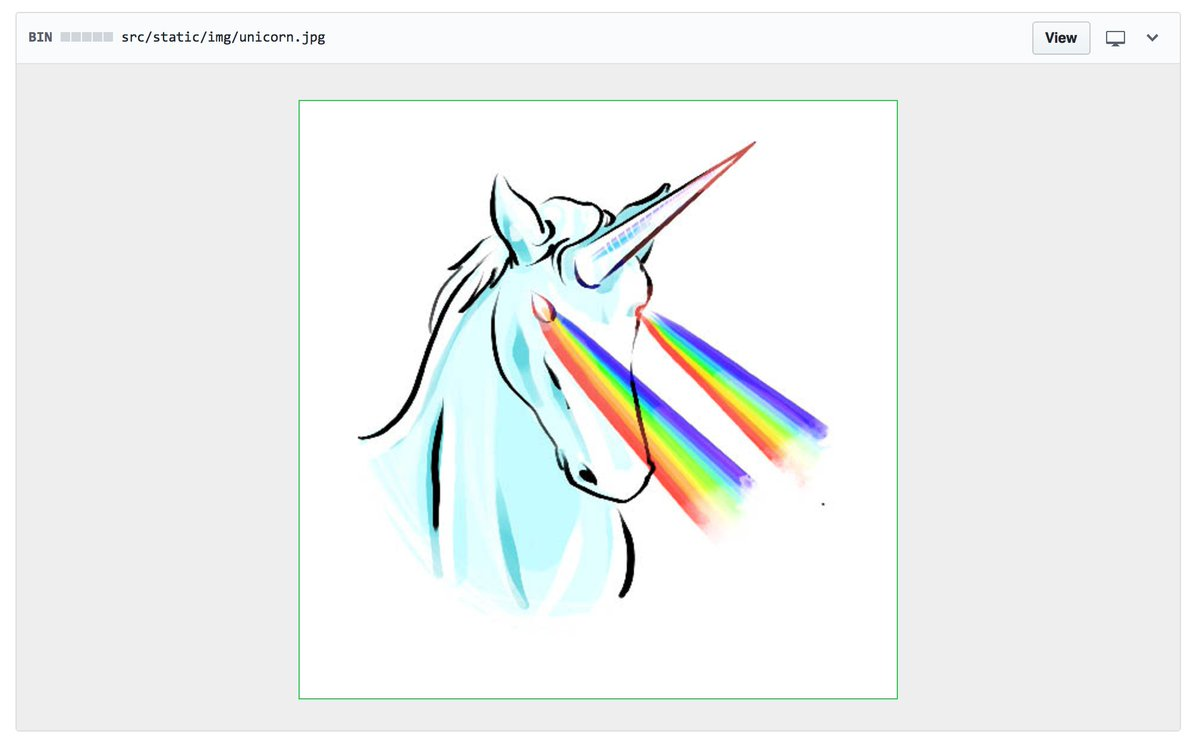 I think my favorite commit at Scripto over the past 2 years was this unicorn💯 ✨On to new gig in a week ! ✨