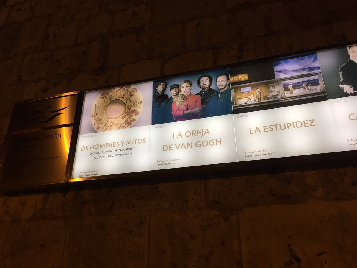 @laorejadevgogh una semana  una semanaaaaaaaa #Burgos @forumevolucion #ganas <br>http://pic.twitter.com/N22QXcxyG5