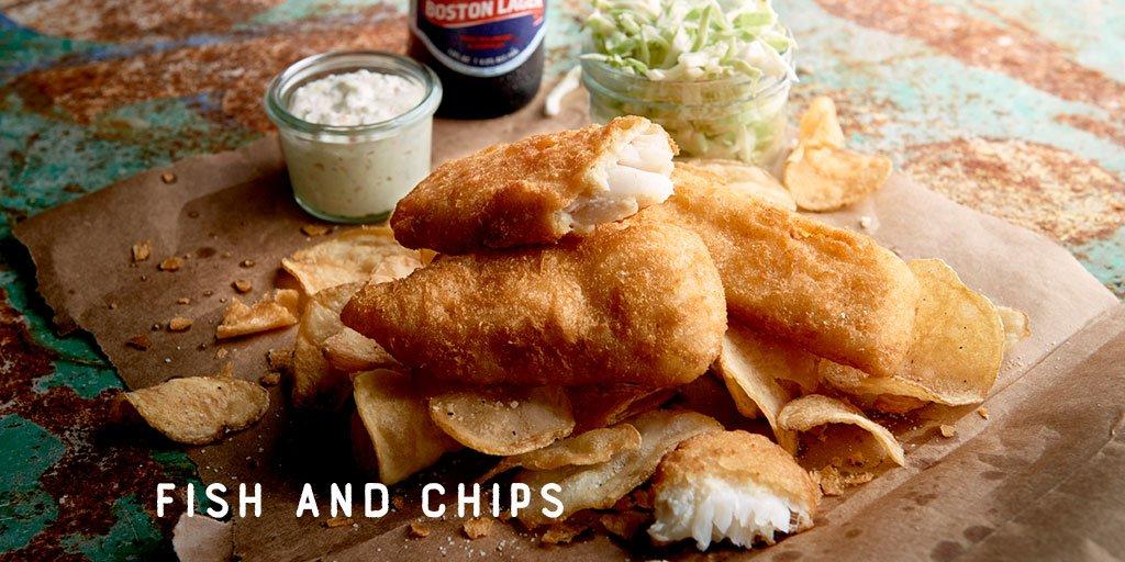 Alaskan Cod Fish And Chips