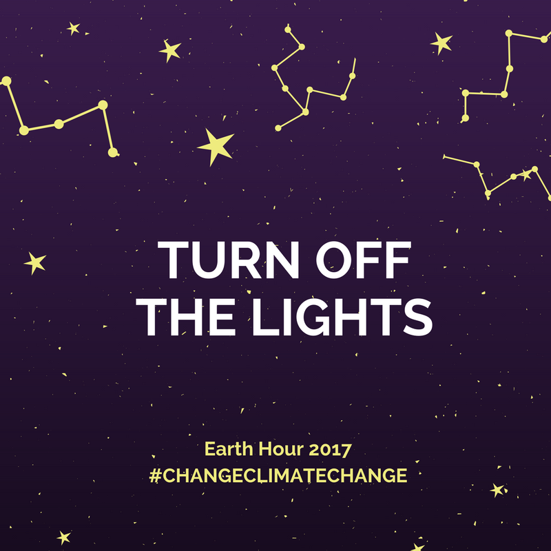 Don't forget #EarthHour tonight. Go for an evening stroll with loved o...