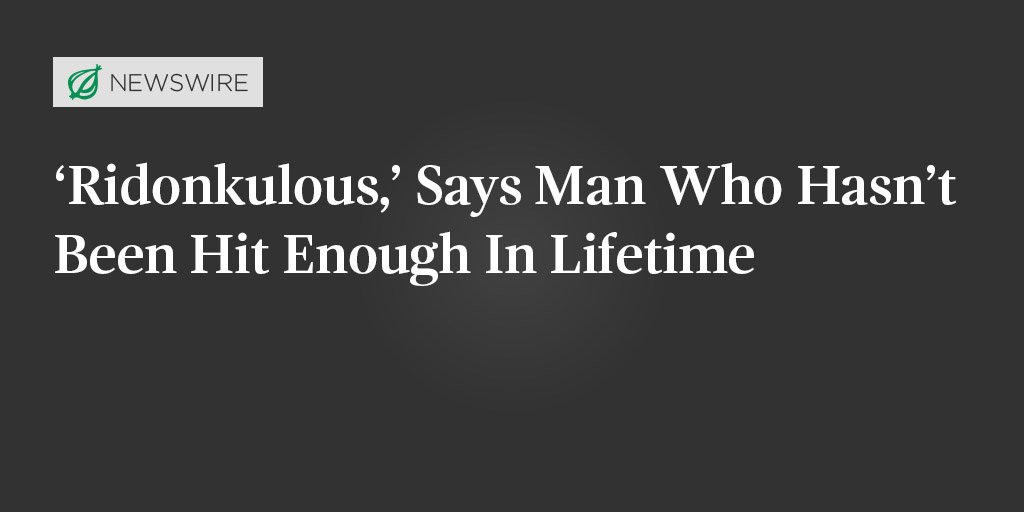 For more world-renowned reportage, visit theonion.com.