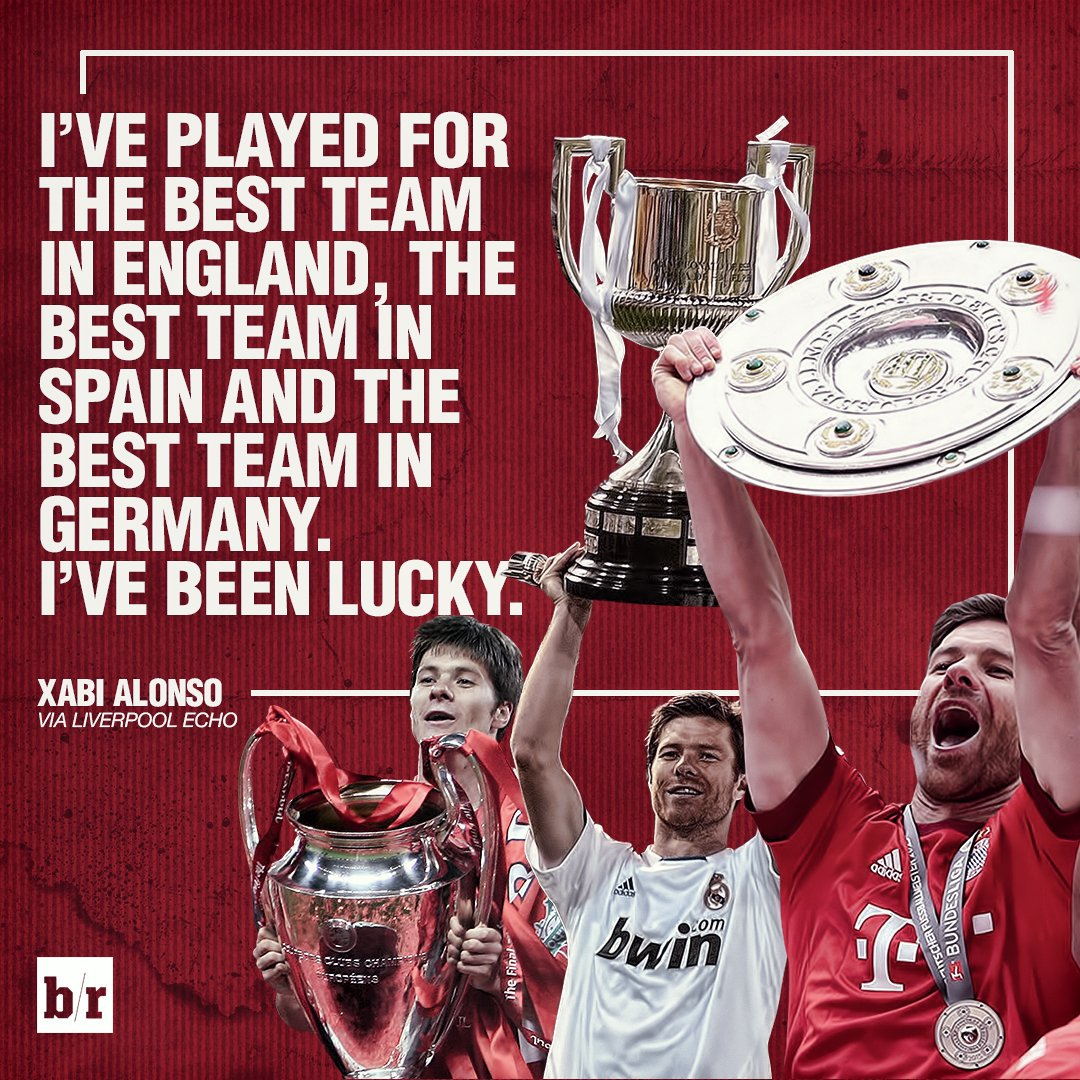 Careers don't come much better than Xabi Alonso's 👏🏼 https://t.co/YLEH...