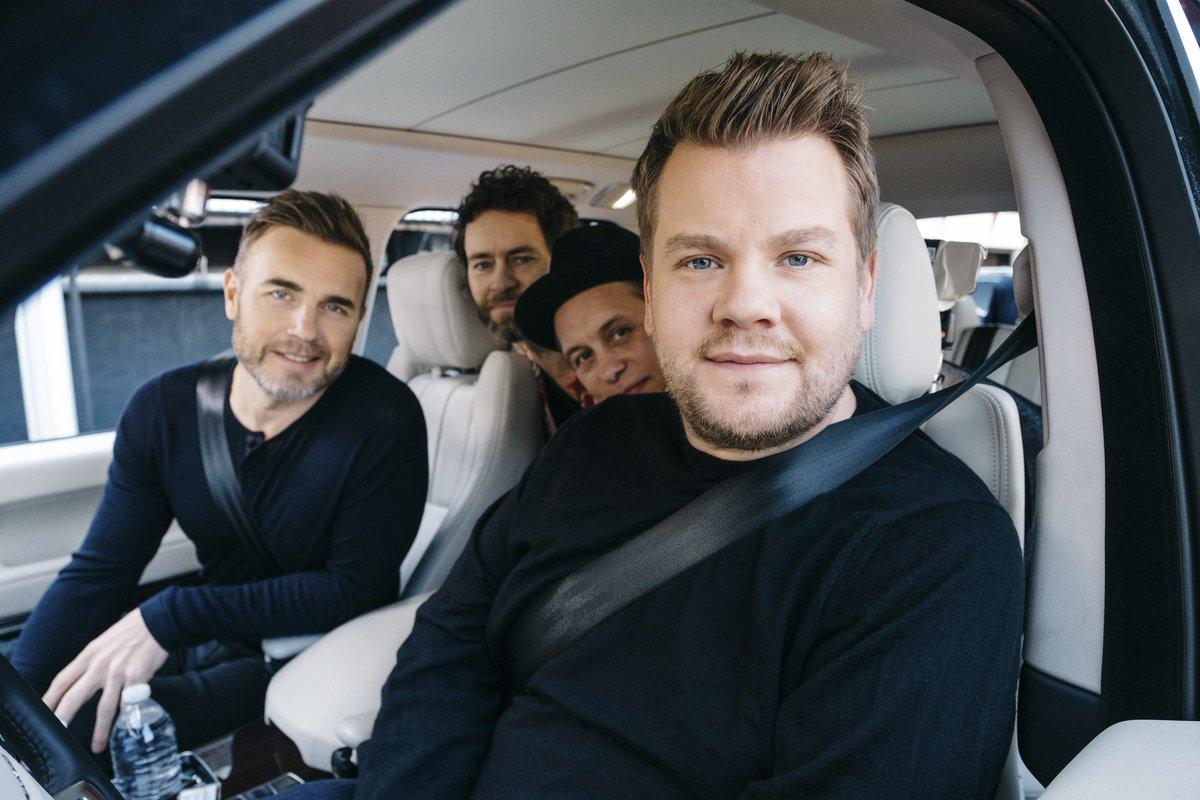The entire #CarpoolKaraoke with @JKCorden and @TakeThat is now availab...