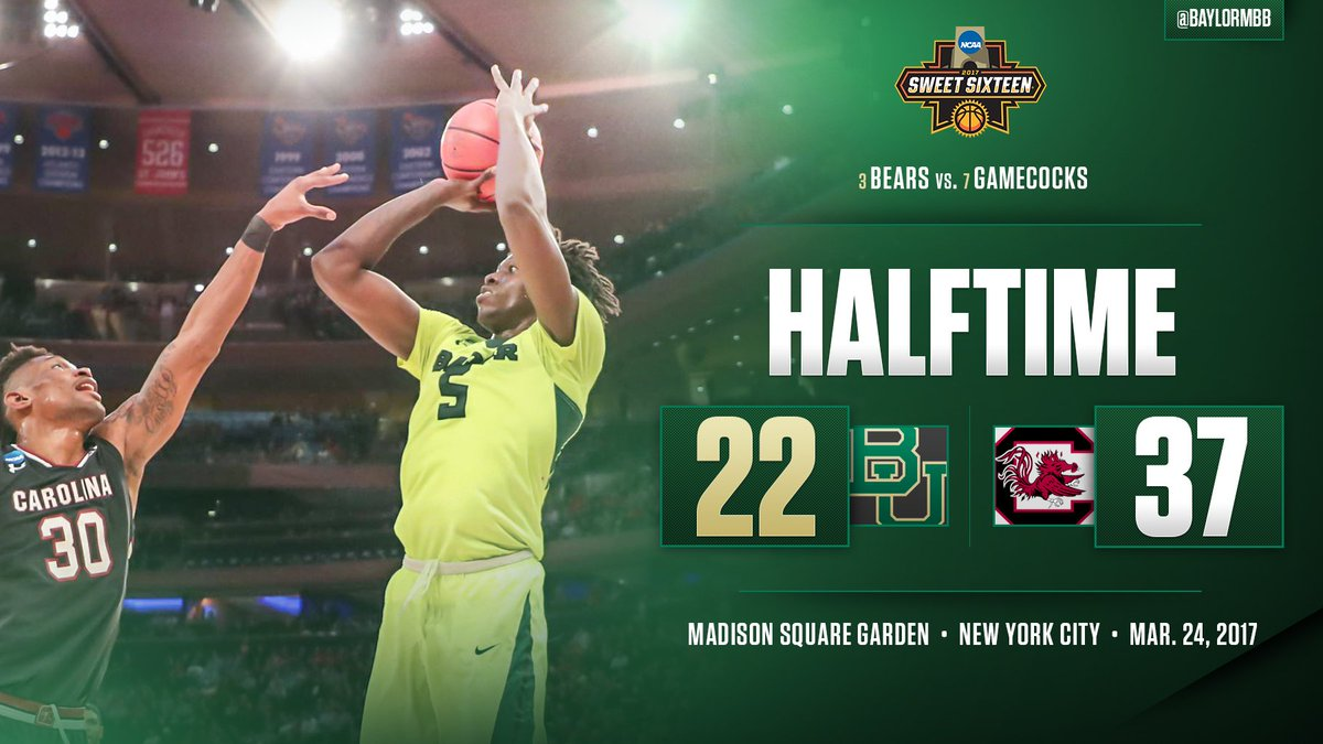 Time for a strong second half.   #SicUSC🏀 #marchmadness https://t.co/N...