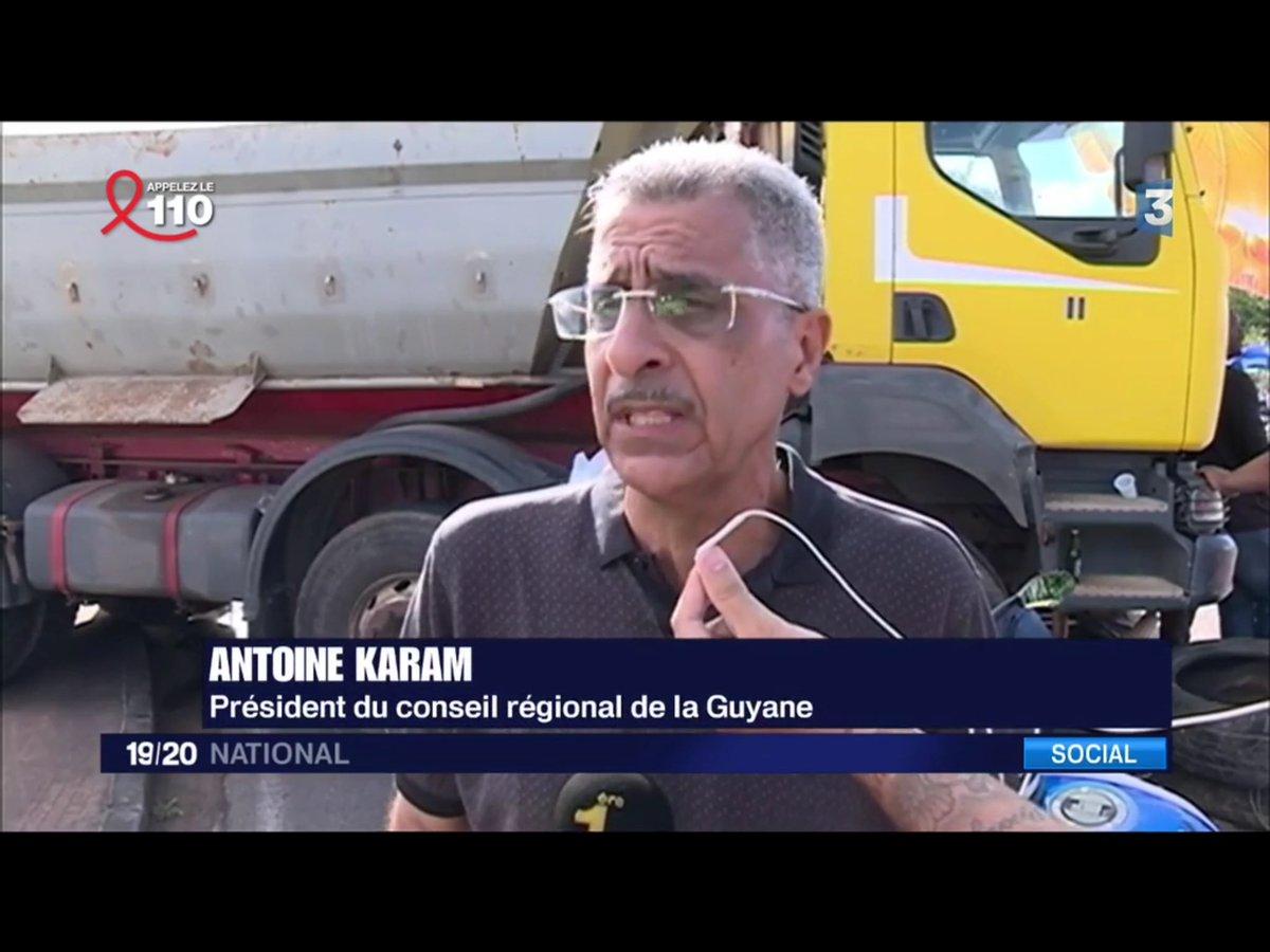 Ouhloulou @France3tv! #FakeNews Preuve que vous ne connaissez absolument pas la #Guyane car le CR n&#39;existe plus et @AKaram973 est sénateur.<br>http://pic.twitter.com/yG8PmwogFS
