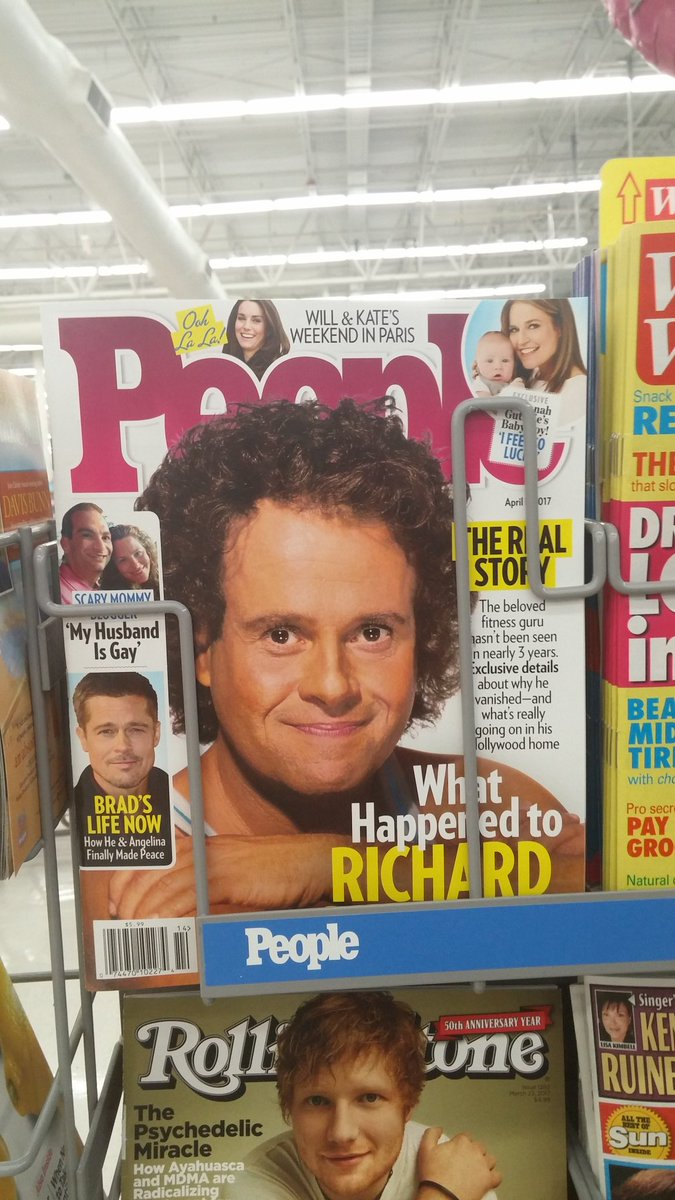 David Tennant + Richard Hammond = Richard Simmons?