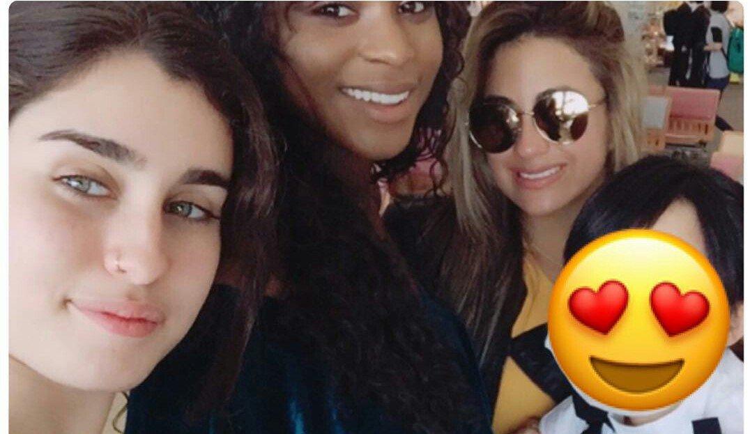 #IG | Lauren, Ally and Normani with a fan (via kurumiiishi)
