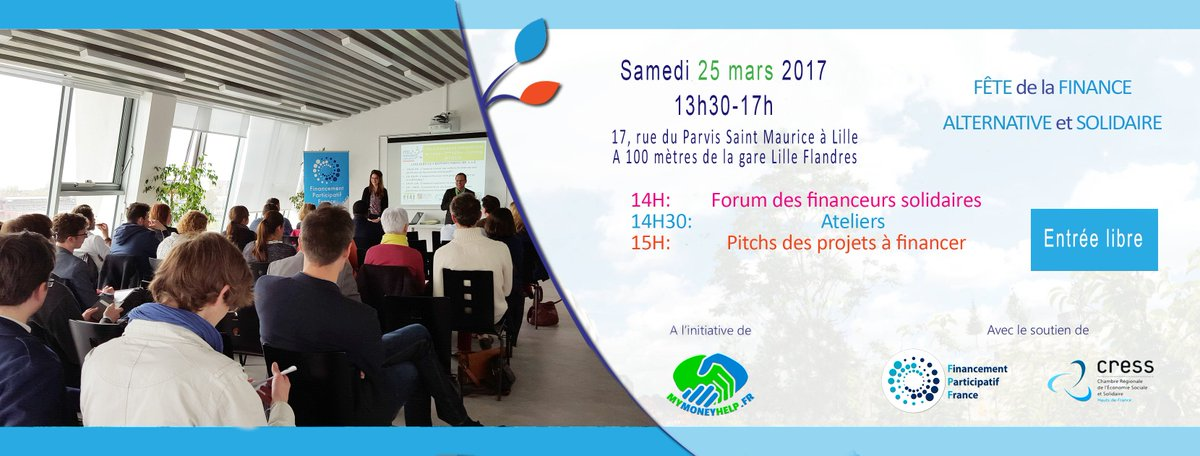 #Finance ton #projet #solidaire avec la #finance #alternative ! @Fin_Part @lacoroutine @mres_asso @Mouves_ES @LaSauvegarde @DonsSolidaires<br>http://pic.twitter.com/vUZ837kVwI