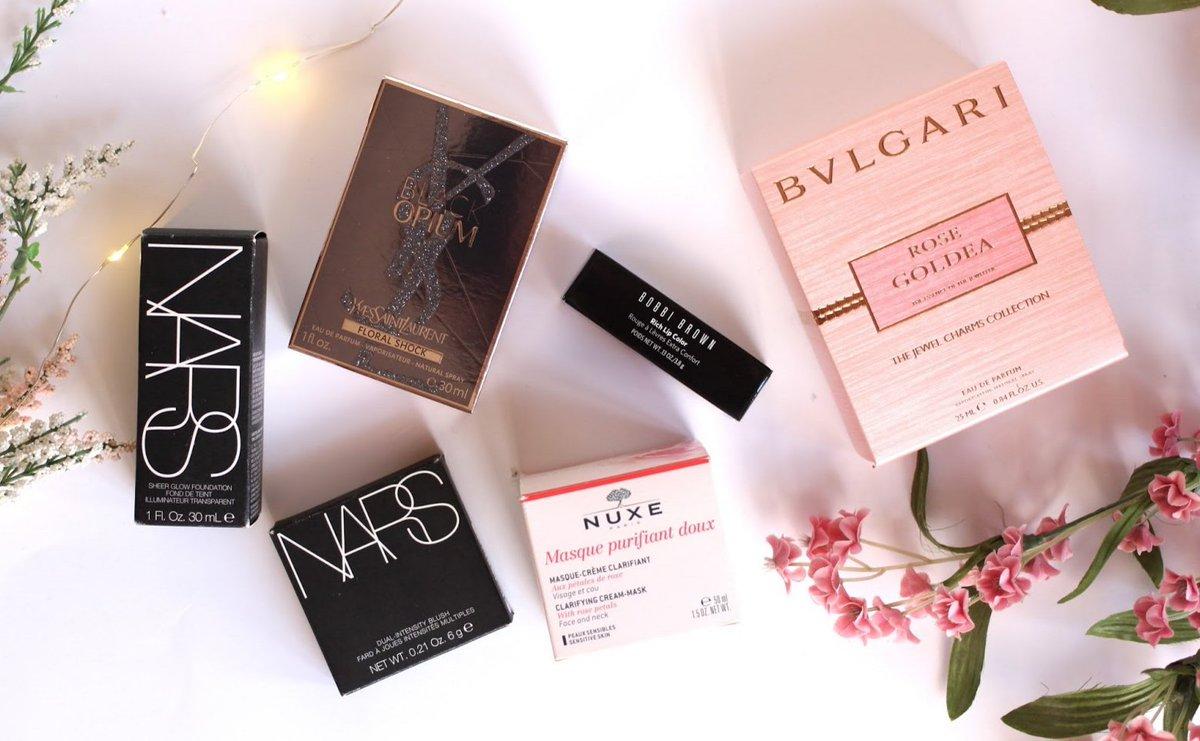 BEAUTY &amp; FRAGRANCE HAUL ft. Bulgari, NARS, Nuxe &amp; More:  http://www. beautyandthebird.co.uk/2017/03/fragra nce-direct-haul-makeup-fragrance.html &nbsp; …  #bloggersblast #bbloggers #fblchat @LovingBlogs @UKBloggers1<br>http://pic.twitter.com/LPaFfaXGkh