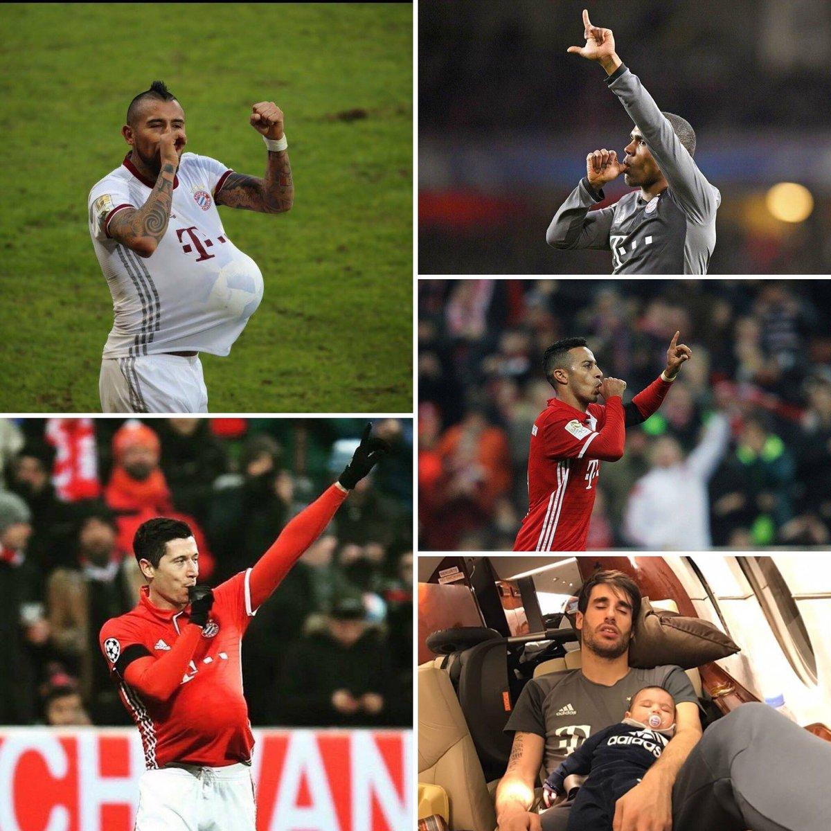 Babyboom beim #FCBayern! 👶 Nochmals herzlichen Glückwunsch! 🎈 #MiaSanM...