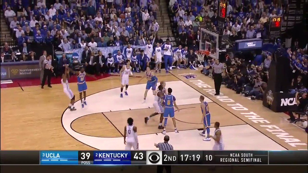 Malik Monk drilled 4 threes on his way to a 21-point performance. #Swe...