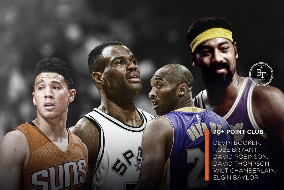 """Basketball Forever on Twitter """"70 Point Club Devin Booker Wilt"""