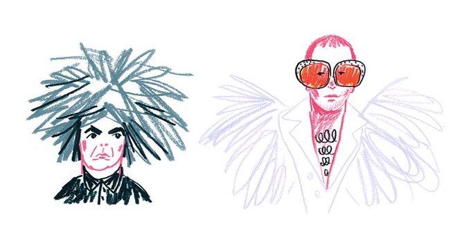 Scarynathan: Happy Birthday Buzz Osborne & Elton John