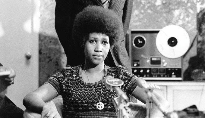 Happy Birthday to Aretha Franklin, who turns 75 today!