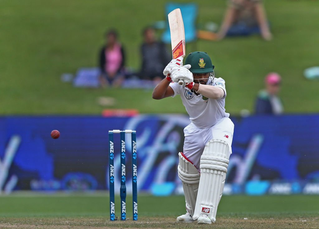 A rain affected day 1 ends with South Africa on 123/4 at stumps, with...