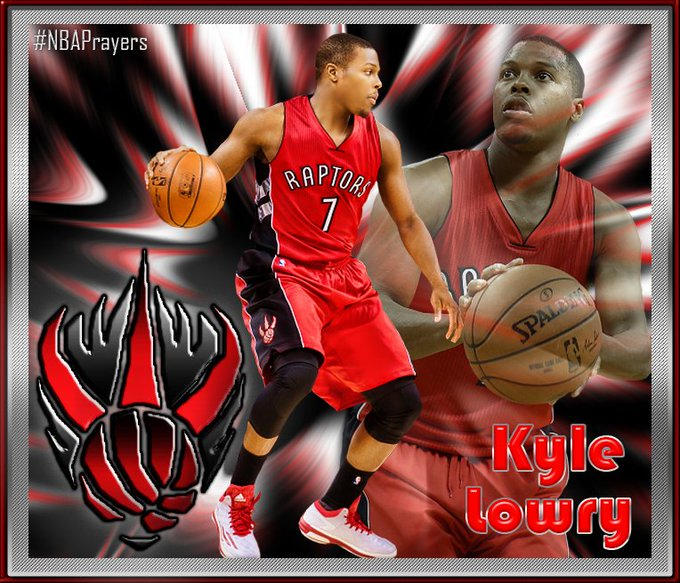 Pray for Kyle Lowry ( enjoy a happy birthday and get well soon