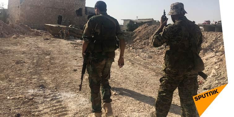 L&#39;armée syrienne libère le dernier bastion de #Daech au nord-ouest de #Raqqa   http:// sptnkne.ws/dTRv  &nbsp;  <br>http://pic.twitter.com/0lYkSxa0aJ