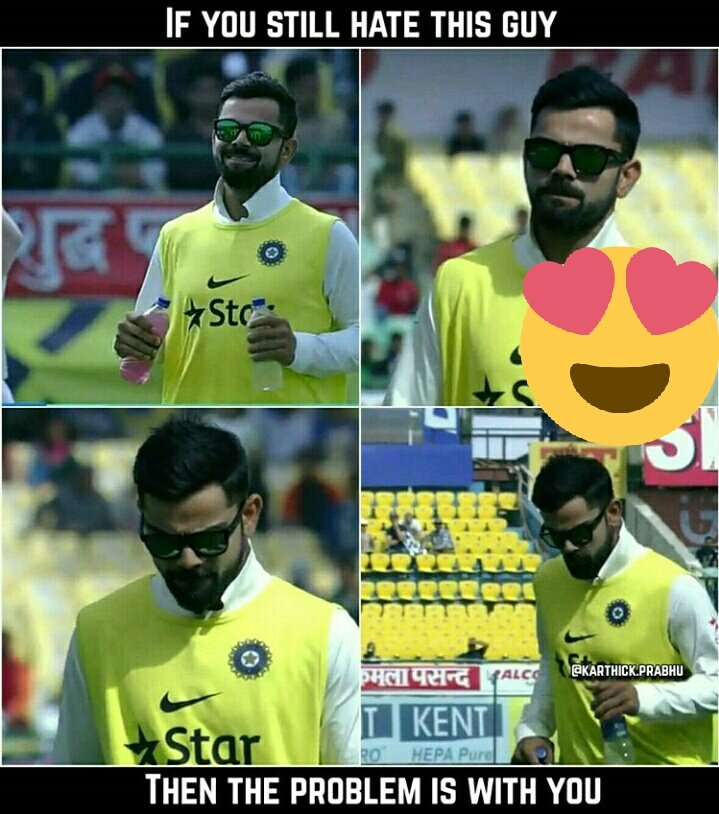 He is earning respect from everywhere #kohli #DharamsalaTest #Rahane #dhoni #Bhuvi #UmeshYadav #BCCI @imVkohli @TeamVirat<br>http://pic.twitter.com/54Seqt9HCh