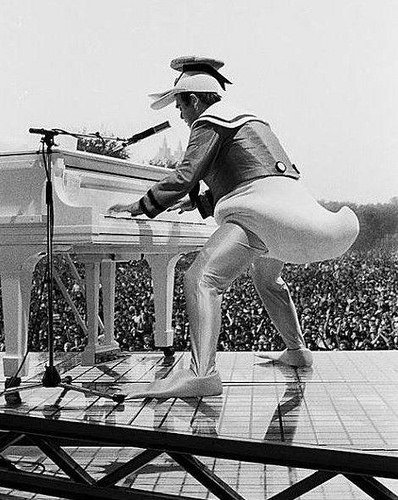 Happy birthday Elton John  70 years old and still rocking