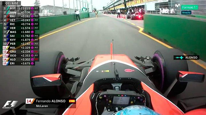 Fernando Alonso, en tierra de nadie: 'He perdido potencia cuando ataca...