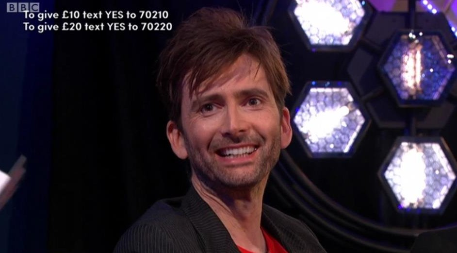 David Tennant on Graham Norton's Big Chat Live for Comic Relief