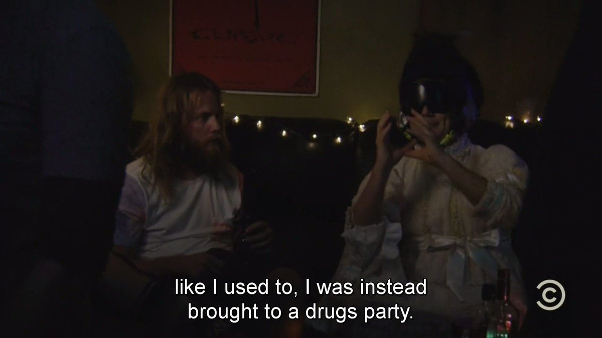 Rickety Cricket at a drug party, because where else would he be #Review #SunnyFXX <br>http://pic.twitter.com/xUown5jEIE
