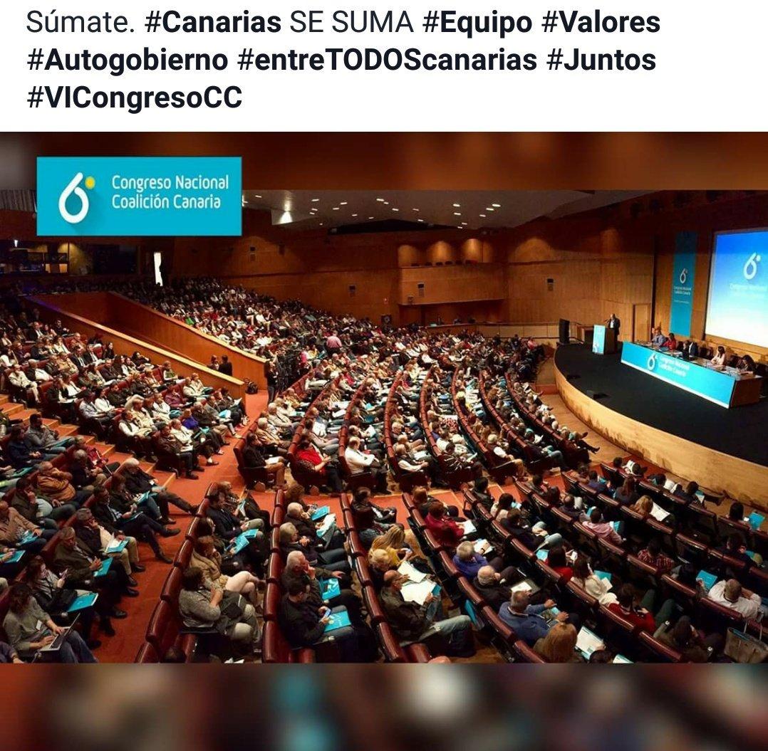 ¡Súmate! #Canarias #Ilusión #Equipo #Valores #entreTODOScanarias  #VICongresoCC @coalicion<br>http://pic.twitter.com/RN7nIve6de