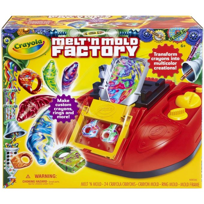 Crayola Melt 'N Mold Factory $11.70 Shipped, Save 77%