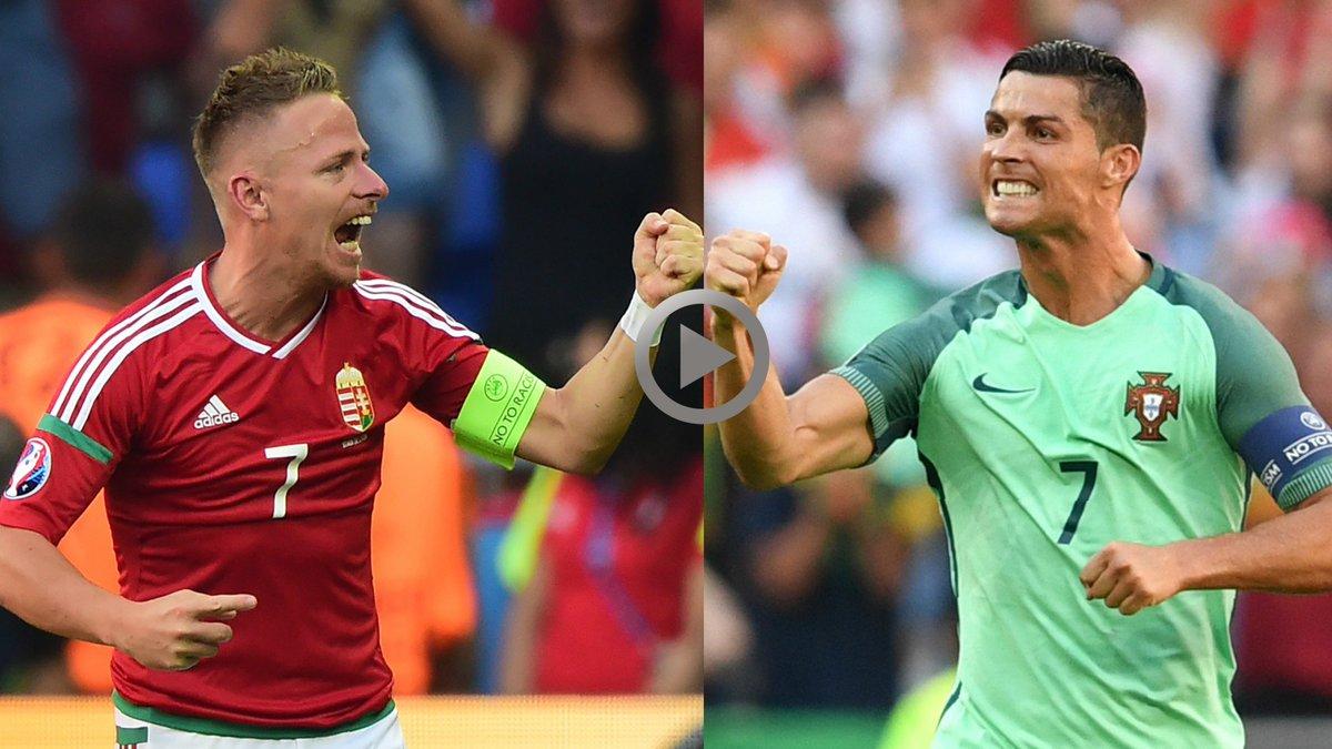 Uefa Euro 2020 On Twitter Euro2016 Highlights Hungary 3 3 Portugal Https T Co Lqkwfas3ma