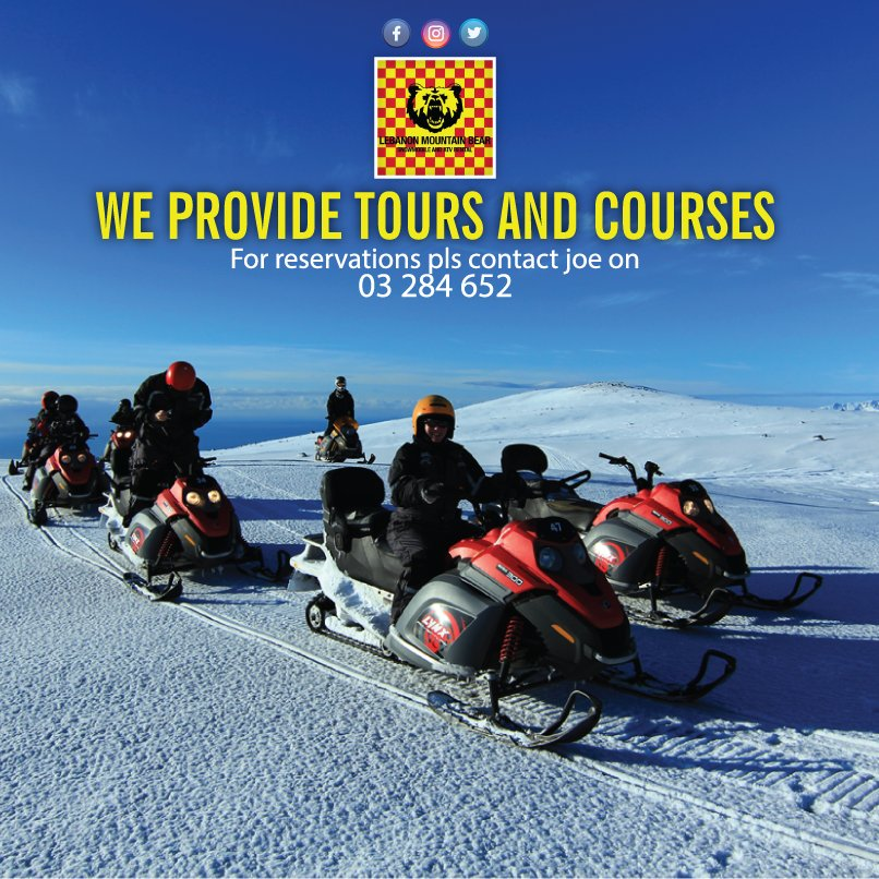 We provide tours &amp; Courses !! For reservation : 03 284 652 Ehdène, Liban-Nord, Lebanon #lebanonmountainbear #ski #snow #winter #top #lebanon<br>http://pic.twitter.com/CYvKHR4fE7
