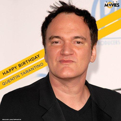 Wishing the veteran filmmaker Quentin Tarantino, a very Happy Birthday.