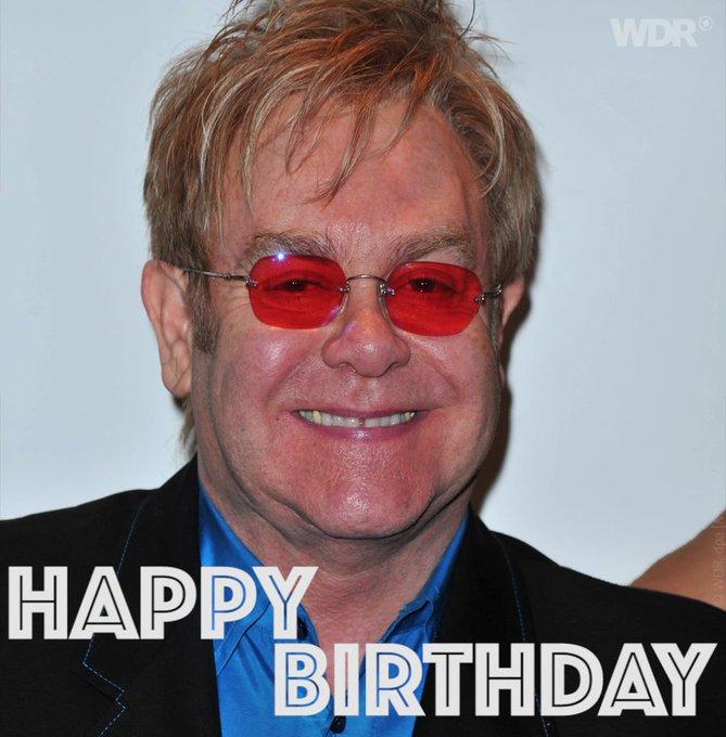Sir Elton John wird heute 70. Happy Birthday!