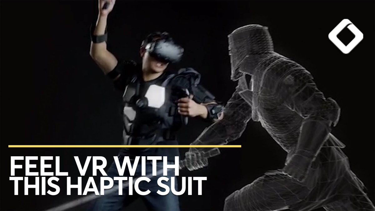 This VR Suit Has 16 Haptic Zones