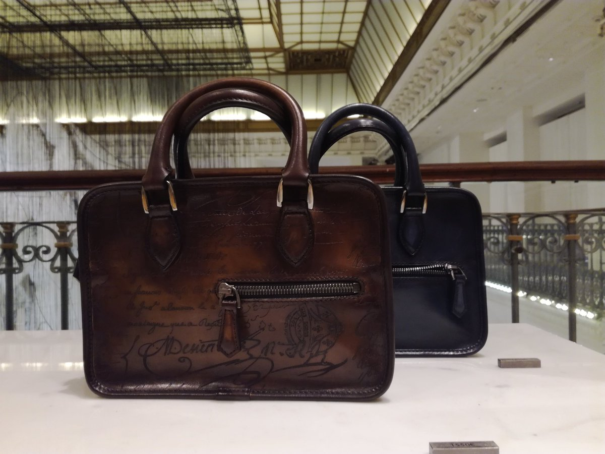 Je ne savais pas que BERLUTI faisait des sacs. #berluti #sac #bag #lovebag #lebonmarche<br>http://pic.twitter.com/zr9IrJQlIS