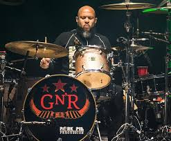 Happy Birthday to Frank Ferrer of Guns N\ Roses, with whom he has played, toured, and recorded since 2006.