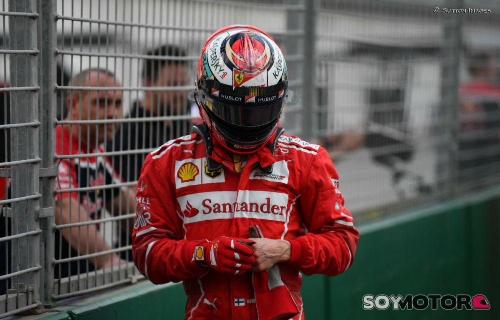 Räikkönen, decepcionado: 'No he logrado hacer una vuelta decente' - ht...