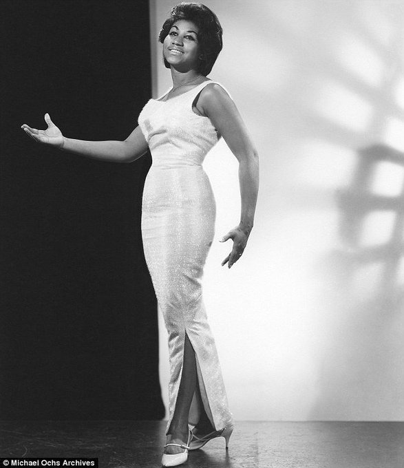 Happy 75th Birthday to the eternal Queen of Soul, Aretha Franklin! (Photo: 1964)