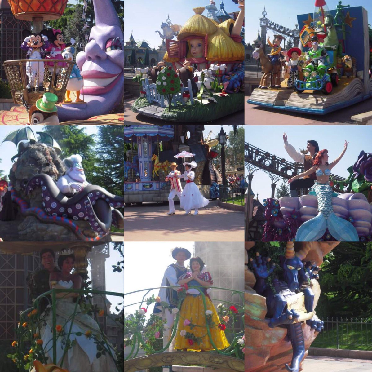 Some photos of my first Disney Once Upon A Dream Parade ! It&#39;ll be weird to have new floats today for the Day Parade!  #DLP25 #DOUD <br>http://pic.twitter.com/GPMTfG0rrk