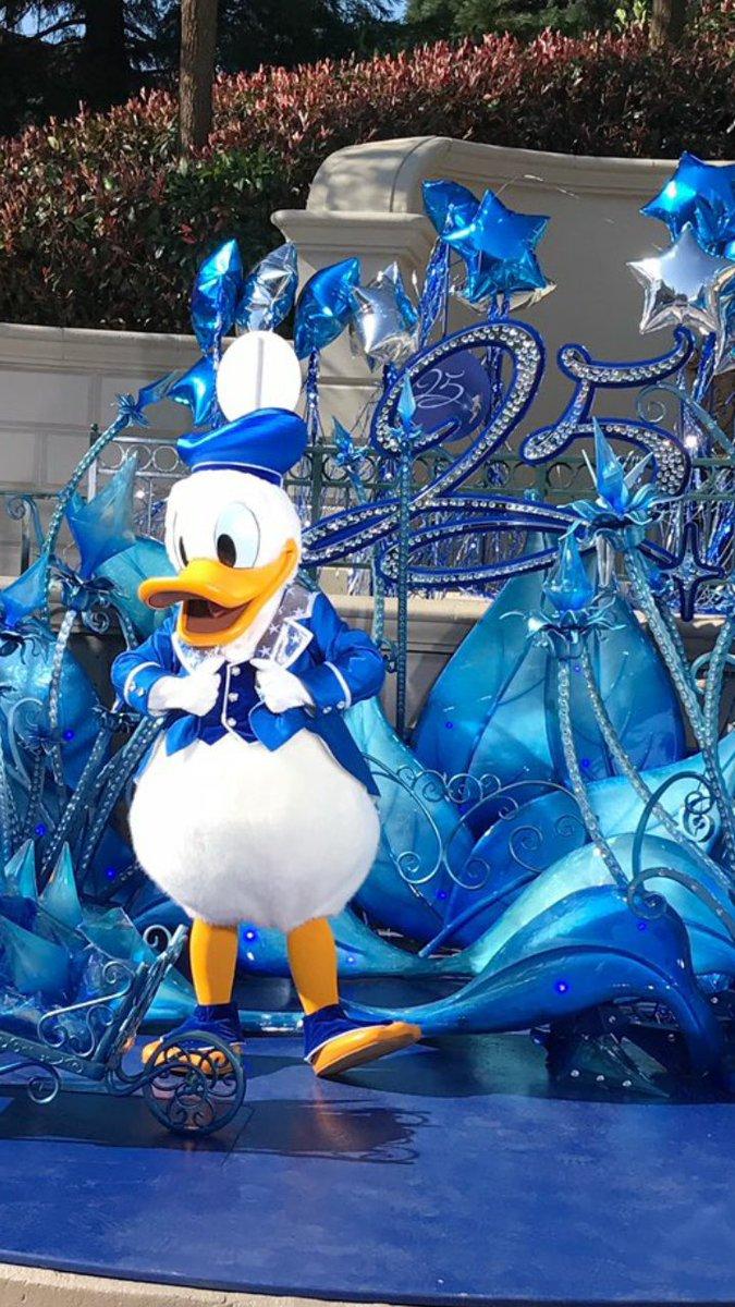 #Donald ça a toujours été mon préféré mais à plus de 30 ans je comprend toujours pas quand il parle  #DisneylandParis25<br>http://pic.twitter.com/nFHSiLiVkR