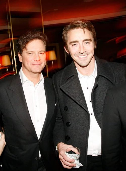"""COLIN FIRTH ADDICTED HAPPY BIRTHDAY, \""""LEE PACE\"""" ^^"""