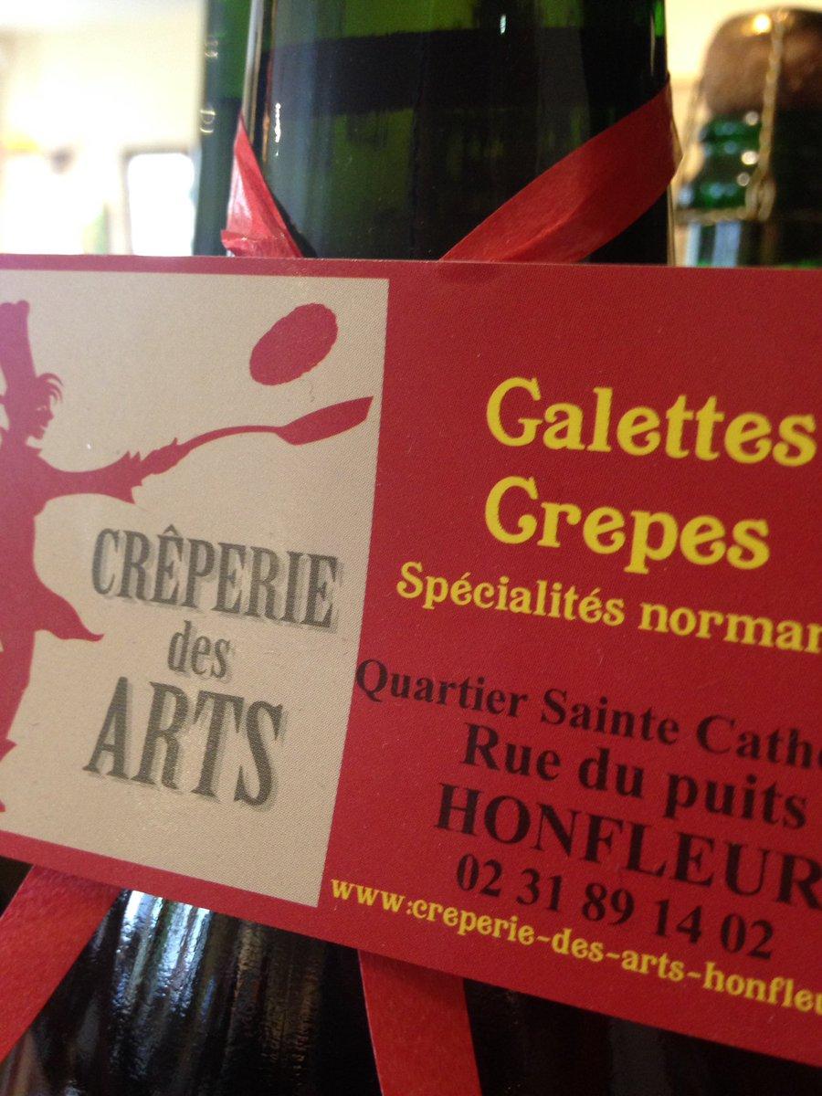 Une #adresse Crêperie des Arts #Honfleur