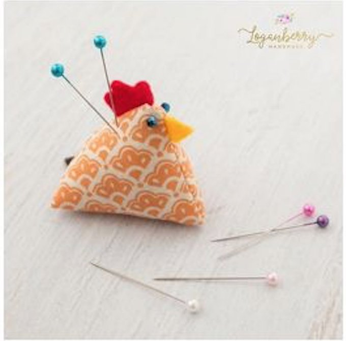Chicken Pin Cushions – Sewing Tutorial