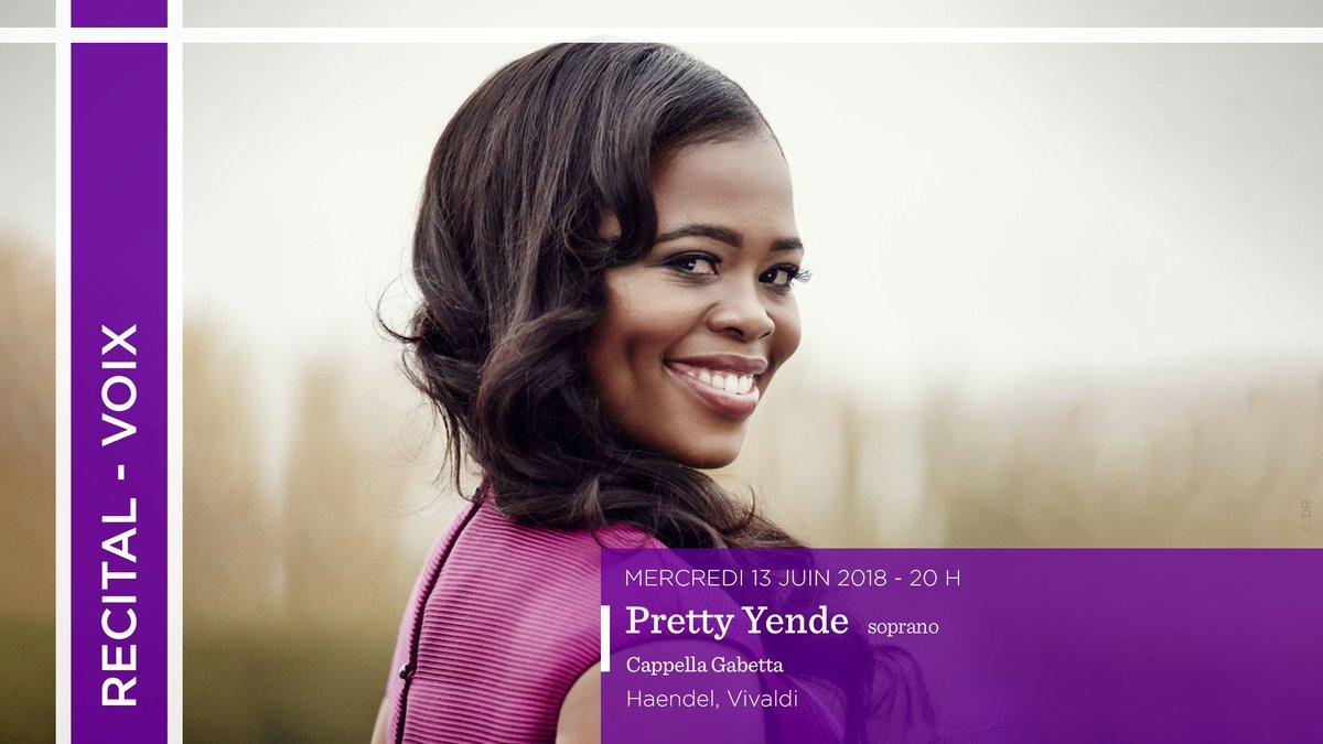 #TCE1718 | 13/06  #soprano @PrettyYende chante #Haendel et #Vivaldi pour son premier #recital #baroque<br>http://pic.twitter.com/hiFOzbL94L