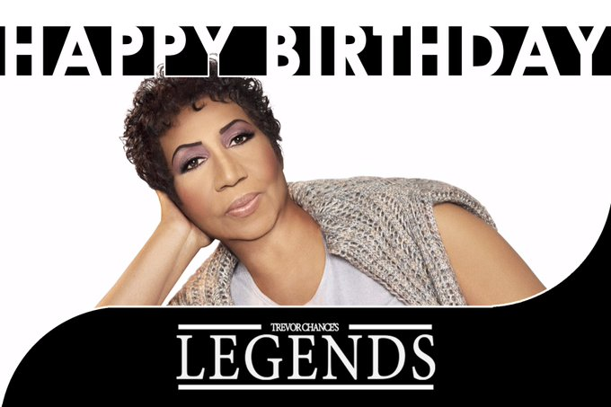 Happy Birthday to Aretha Franklin! The Queen of Soul is 75 today...