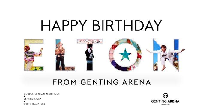 Happy Birthday to one of the greatest, Sir Elton John