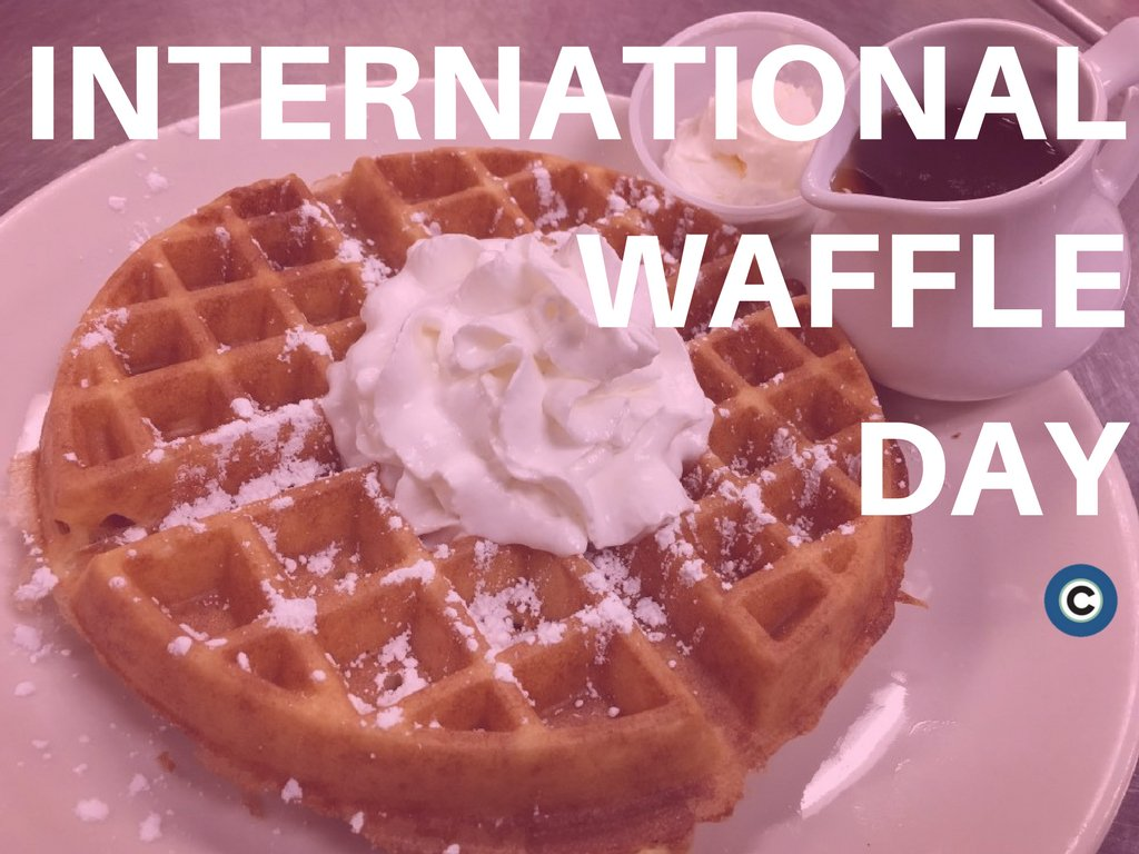 A very delicious holiday. Happy #InternationalWaffleDay! https://t.co/...