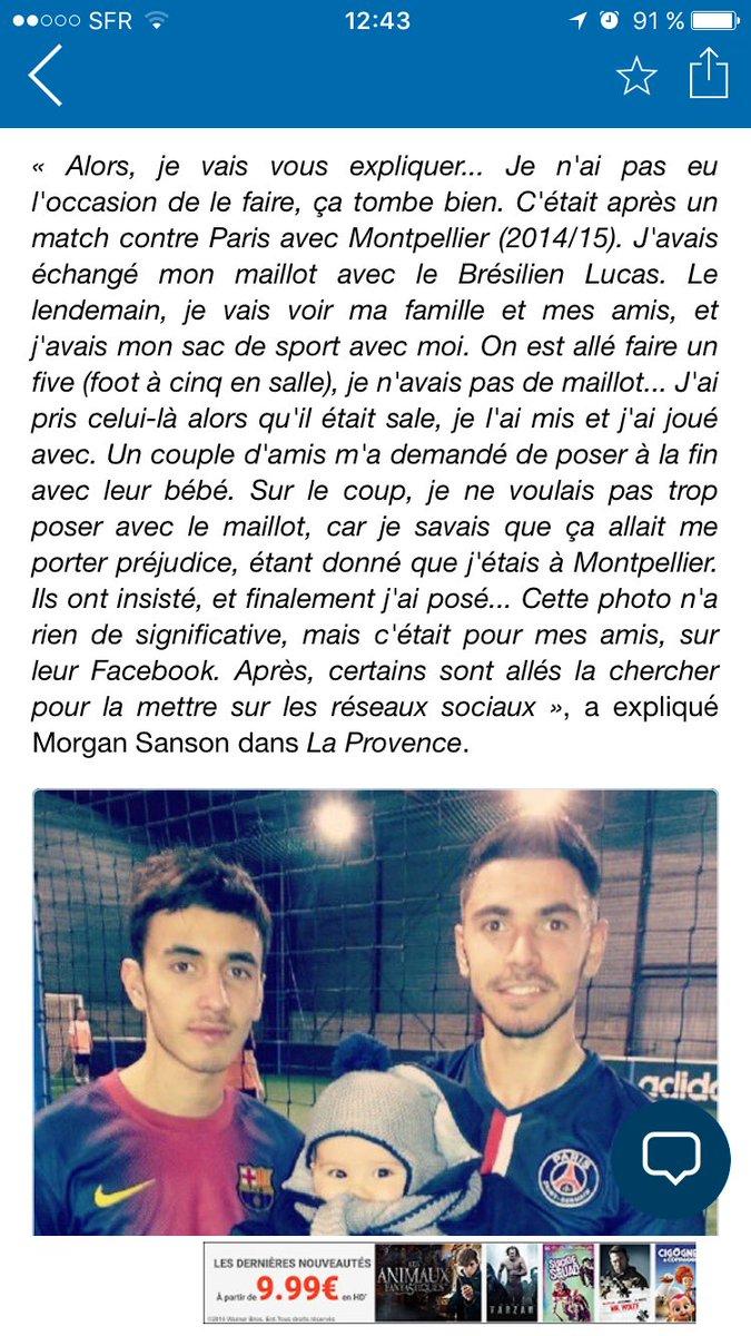 #Sanson et l&#39;histoire du maillot parisien <br>http://pic.twitter.com/mtve66kccO