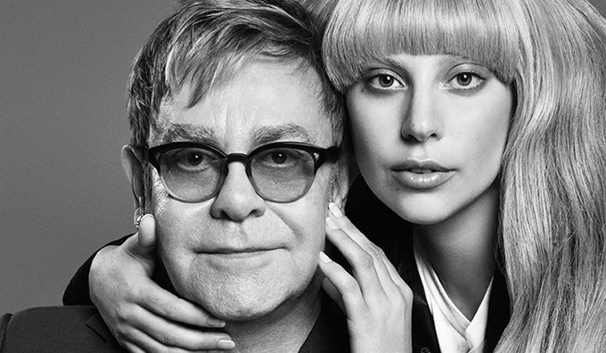 Happy Birthday to the legendary Sir Elton John! Thank you for believing in Gaga, Monsters love you